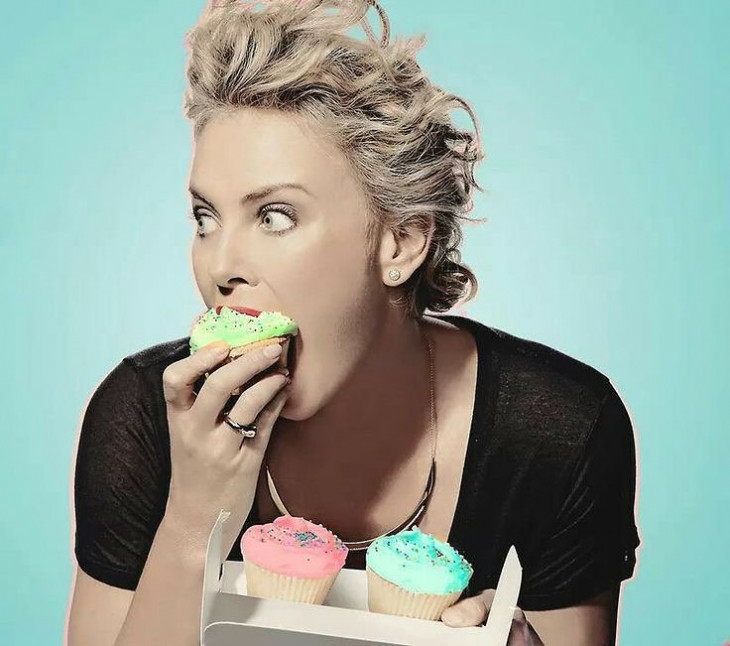 Charlize Theron Food